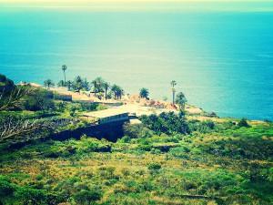 Das Ferienhaus liegt in der Urbanisation La Palmita im Norden von Teneriffa