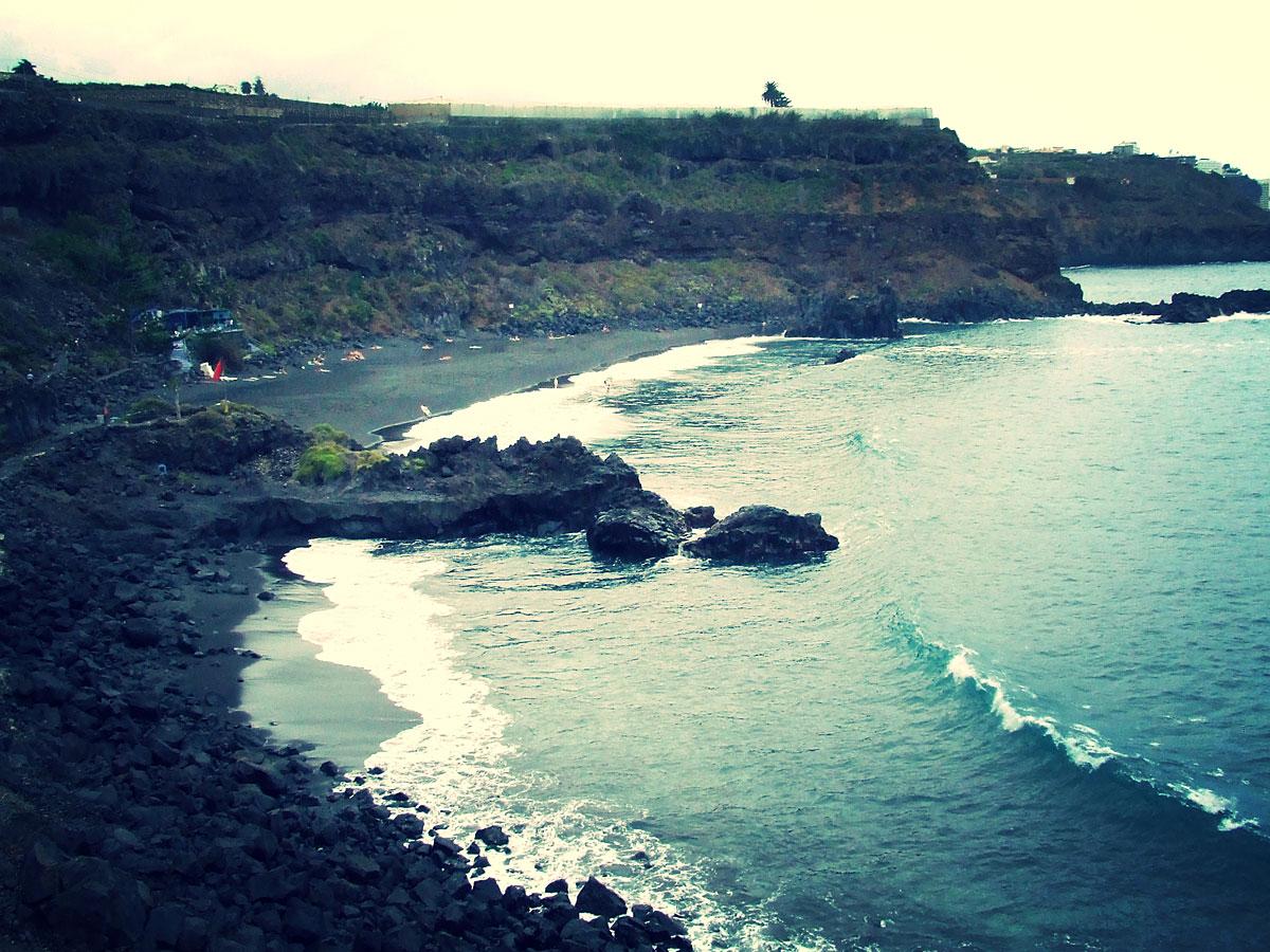 Der Strand um die Ecke: Playa Bollullo